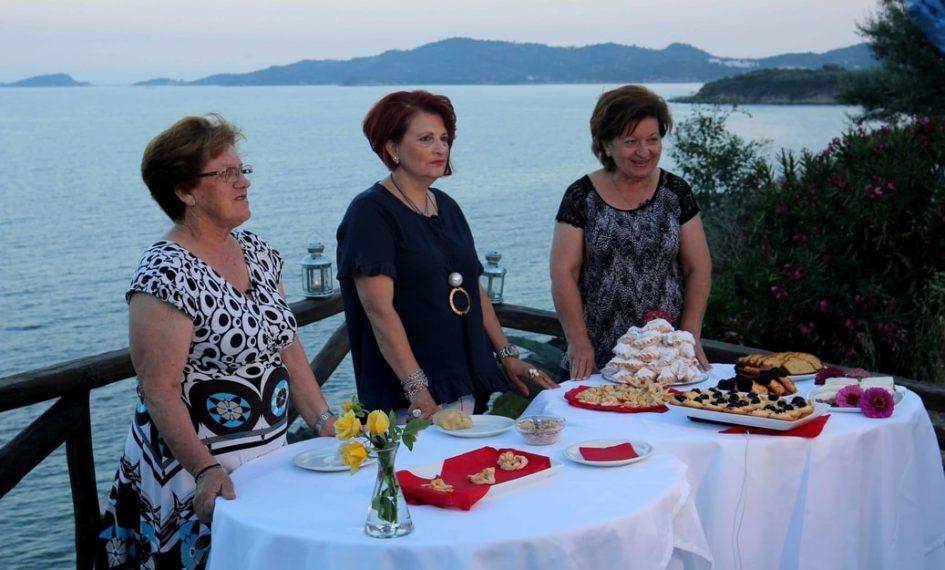 Regal gastronomic la Ammouliani – Festivalul culinar Kouzina