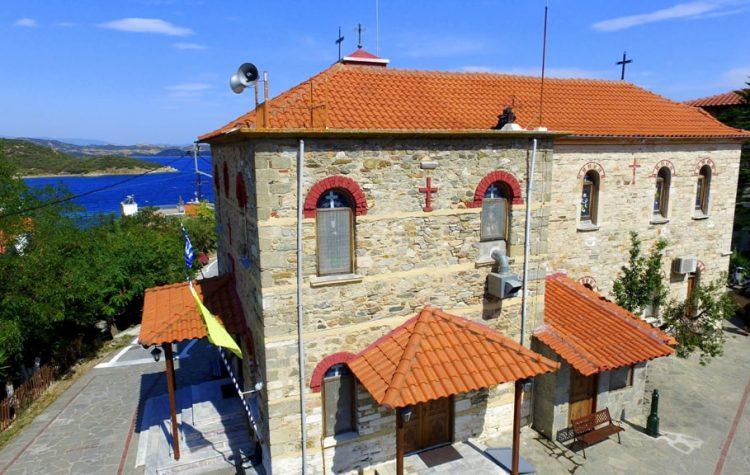 Biserica Sfantul Nicolae din Ammouliani - Ammouliani.ro